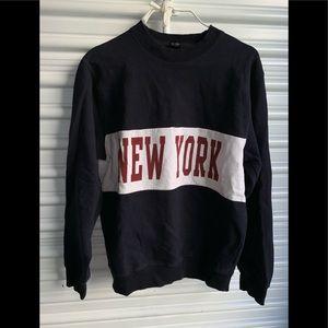 Black crew neck sweater by John galt 🙏✌️